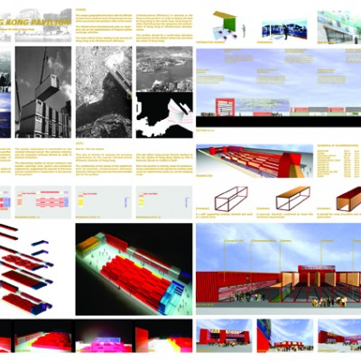 YONG ARCHITECTS AWARD 2003 - EXPO HONG KONG PAVILION - WINNER