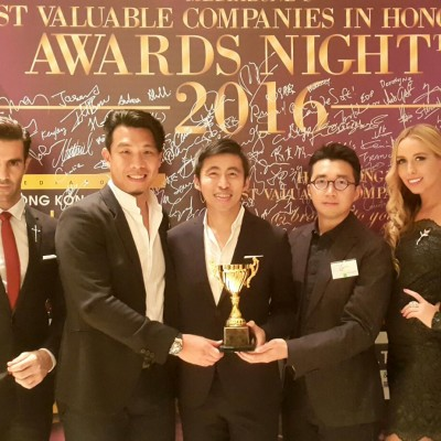 HONG KONG'S MOST VALUABLE COMPANIES ANNUAL AWARD